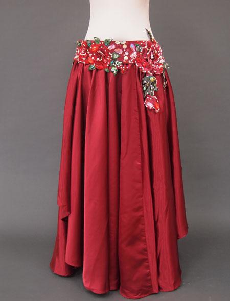 赤薔薇ベリーダンス衣装3 ミラーナ