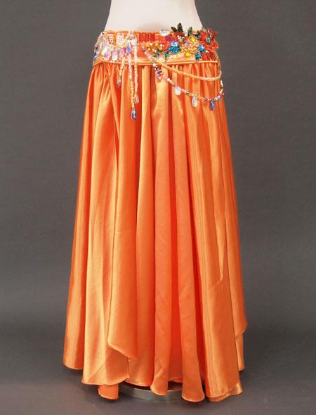 オレンジカラフル3 MiLLANAベリーダンス衣装