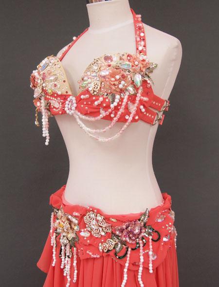 砂糖菓子のようなベリーダンス衣装4 ミラーナ