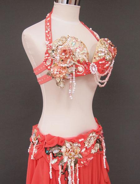 砂糖菓子のようなベリーダンス衣装5 ミラーナ