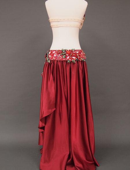 赤ローズベリーダンス衣装6 ミラーナ