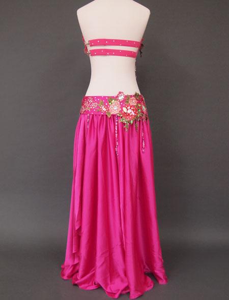 ピンクグリーンベリーダンス衣装6 ミラーナ