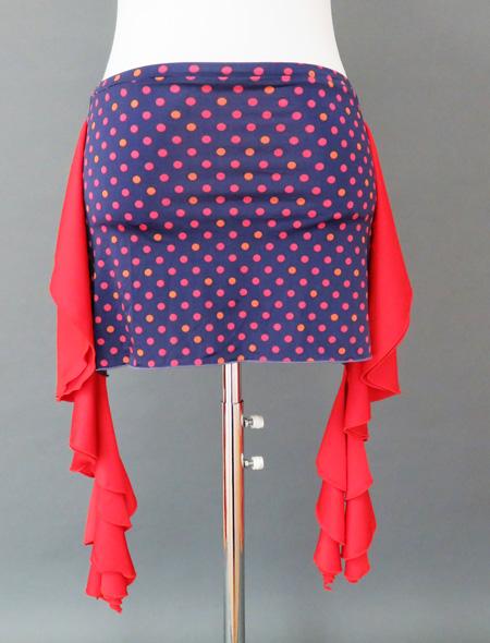 水玉ヒップスカーフ