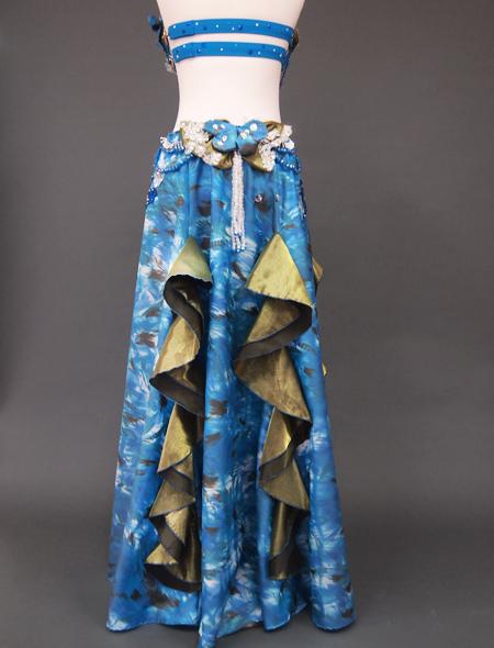 ブルーリボン6 ミラーナベリーダンス衣装