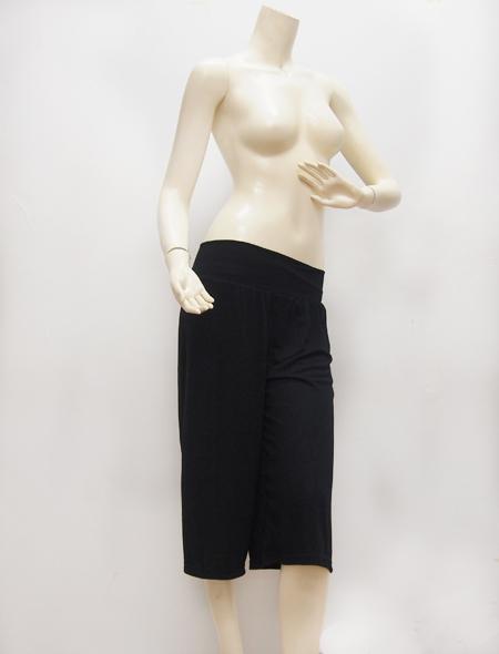 ブラックガウチョパンツ ミラーナベリーダンス衣装