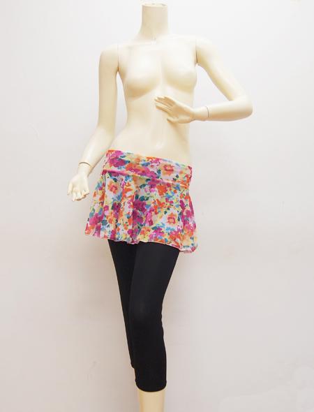 花柄スカート2 ミラーナベリーダンス衣装