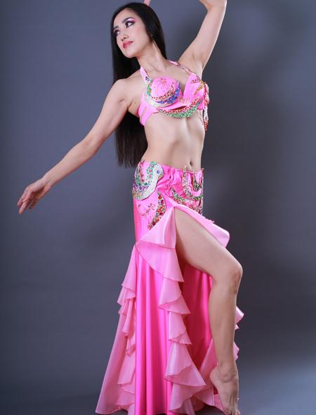 鳳凰モチーフ2 ミラーナベリーダンス衣装