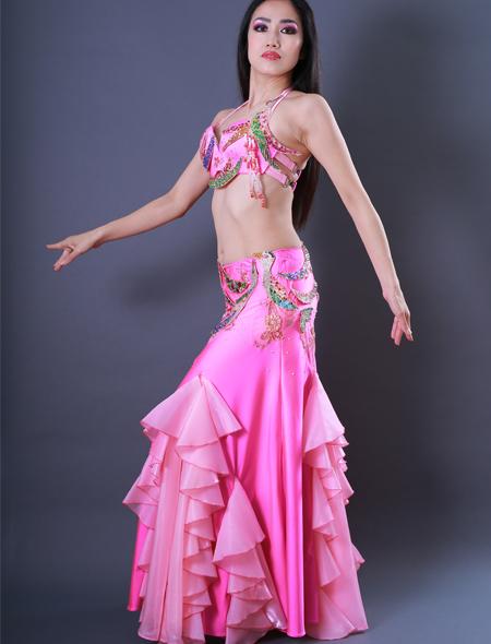鳳凰モチーフ3 ミラーナベリーダンス衣装