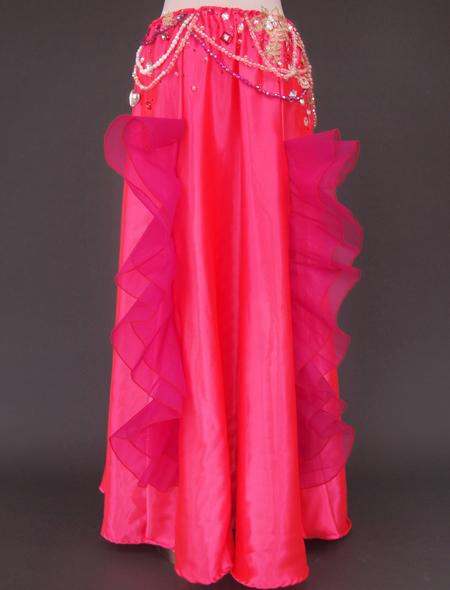 ピンク薔薇ベリーダンス衣装6 ミラーナ