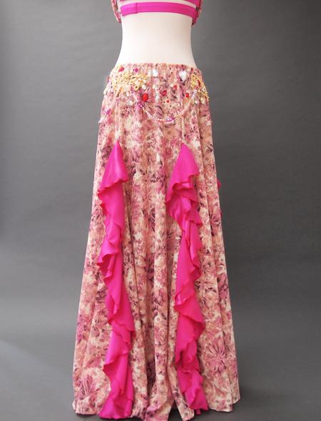 ピンクファンタジーベリーダンス衣装7 ミラーナ