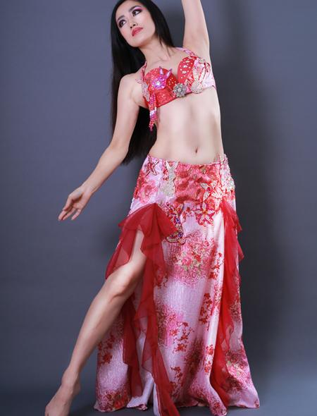ウサギモチーフ1 ミラーナベリーダンス衣装