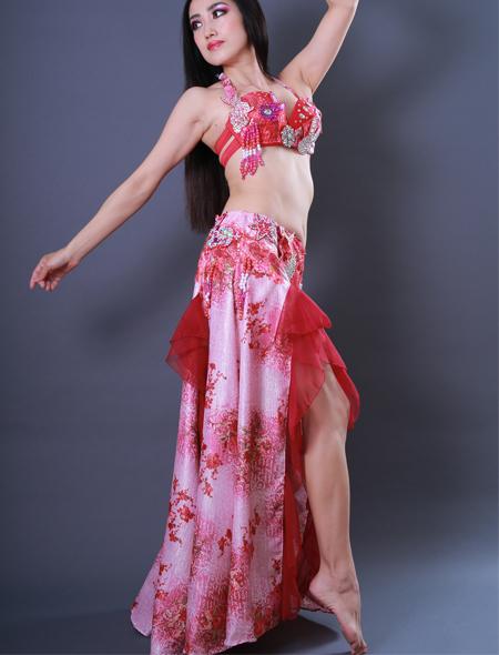 ウサギモチーフ2 ミラーナベリーダンス衣装
