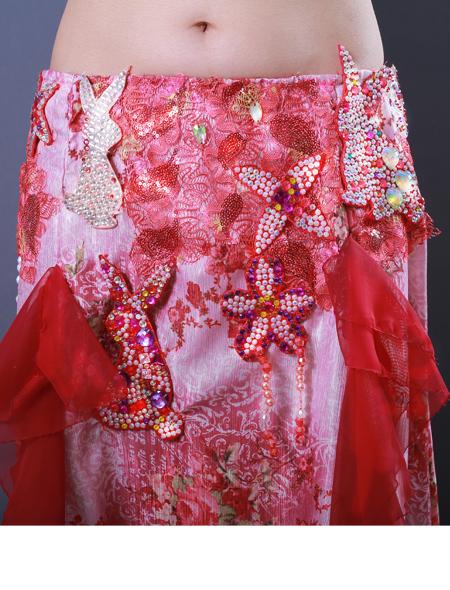 ウサギモチーフ6 ミラーナベリーダンス衣装