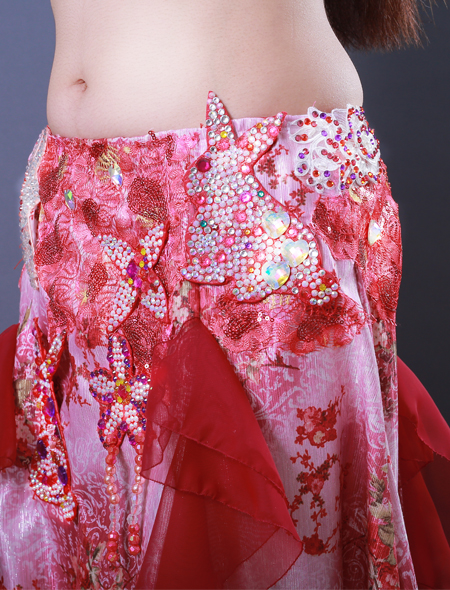 ウサギモチーフ7 ミラーナベリーダンス衣装