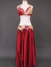 深紅ベリーダンス衣装1 MiLLANA
