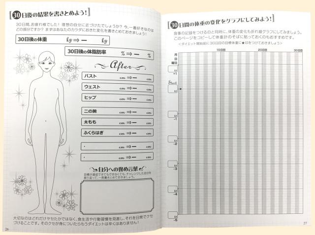 魔法のダイエット手帳