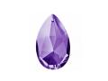 しずく型クリスタル・紫の光(本体のみ)