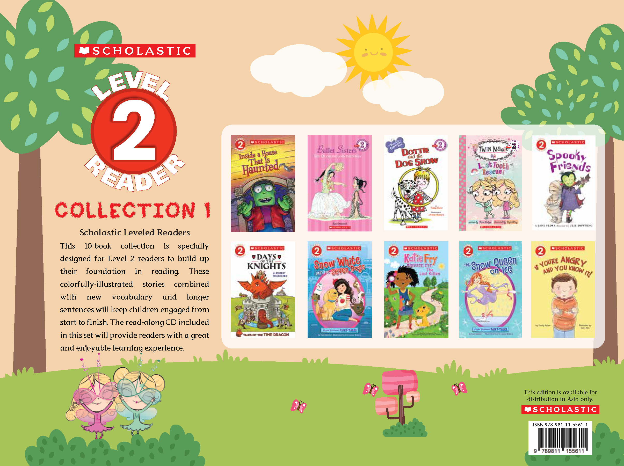 SCHOLASTIC LEVELED READERS LEVEL2 -COLLECTION 1