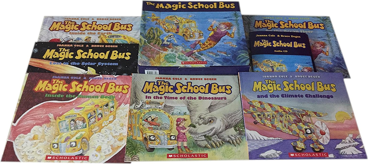 MAGIC SCHOOL BUS CLASSIC COLLECTION (6 BOOKS & 6 CDS)