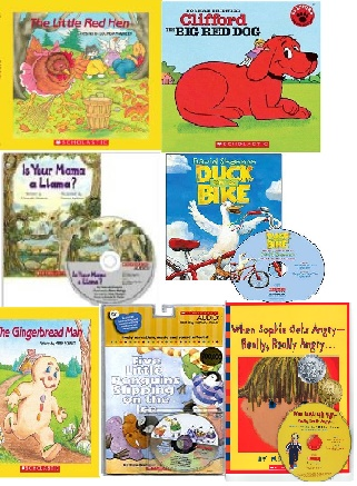 SCHOLASTIC READ ALONG (PAPERBACK&CD) FOR STORYTELLING 7タイトル
