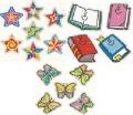 DAZZLE STICKERS(60〜105枚):キラキラシール3種類