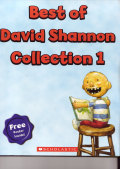 BEST OF DAVID SHANNON COLLECTION 1 (4 BOOKS; NO, DAVID!,DAVID GOES TO SCHOOL, DAVID GETS IN TROUBLE,GOOD BOY FERGUS!+ EXCLUSIVE POSTER)