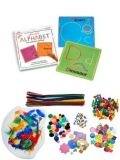 クラフト2種類WIKKI STIX ALPHABET FUN CARD&ART START KIT