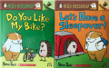 HELLO, HEDGEHOG.. DO YOU LIKE MY BIKE WITH CD&LET'S HAVE A SLEEPOVER WITH CD