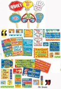 MANAGE YOUR CLASS SIGNS & 35 QUOTES OF DR.SUESS (2種類)