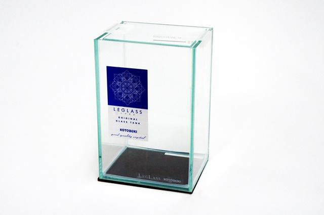 コトブキ レグラス ショーベタ水槽<ジュニア>(ガラスフタ付)~レギュラーサイズの半分の大きさです♪