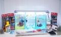 ショーベタ飼育スターターセット~水槽3点縦置き用ベタ専用ヒーター付【送料無料】~新LEDライト導入でお安くなりました!