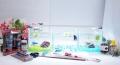 ショーベタ飼育スターターセット~水槽3点横置き用ベタ専用ヒーター付【送料無料】~新LEDライト導入でお安くなりました!