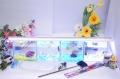 ショーベタ飼育スターターセット~水槽4点横置き用ヒーターなし【送料無料】~新LEDライト導入でお安くなりました!