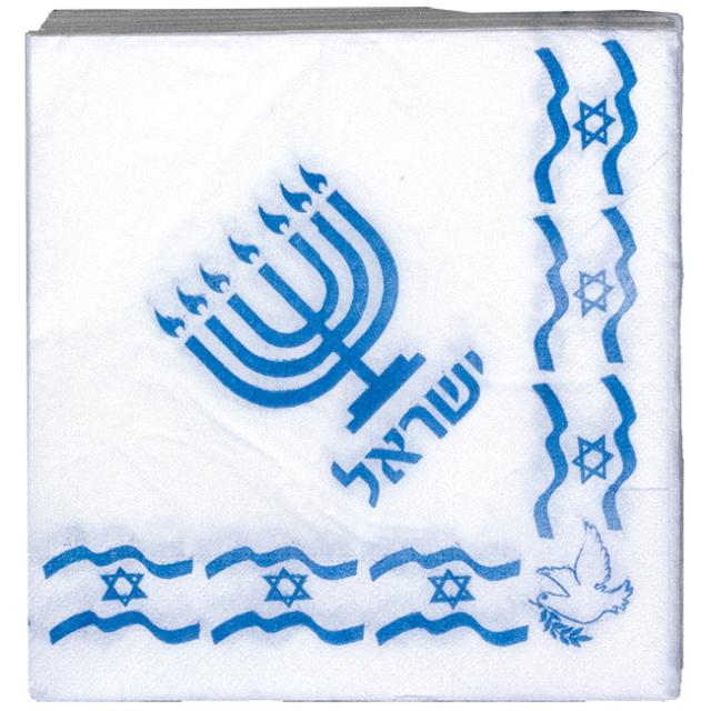 ペーパーナプキン(イスラエル国旗)