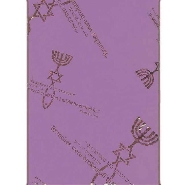 スカーフ グラフトイン 紫
