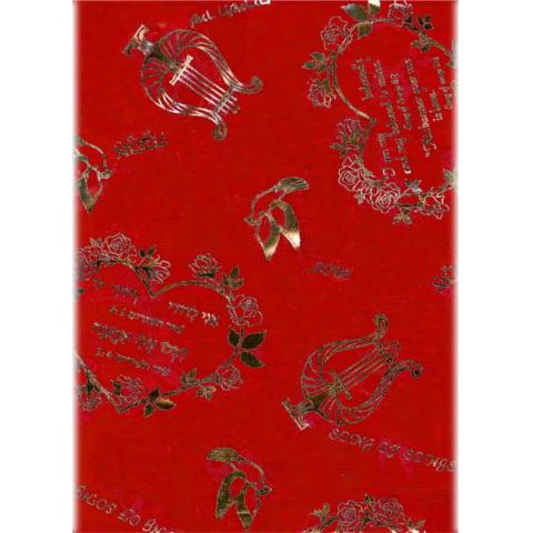 スカーフ(雅歌) 赤