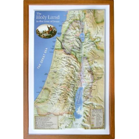 イスラエル立体マップ イエス時代