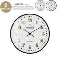Loretto(ロレト) 掛け時計・ウォールクロック CL-2542 インターフォルム