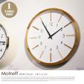 掛時計 モトレフ ウォールクロック Motreff Wall Clock CL-3020 インターフォルム INTERFORM