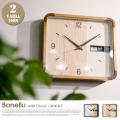 掛時計 ボネル ウォールクロック Bonellu Wall Clock CL-2551 インターフォルム INTERFORM