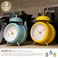 ウォリカ Wolica CL-2965 置き時計 インターフォルム INTERFOM