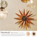 掛時計 フェルマー ウォールクロック Fermat Wall clock CL-3023 インターフォルム INTERFORM