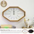 掛時計 ベルモンテ ウォールクロック 電波時計 Belmonte Wall Clock CL-3024 インターフォルム INTERFORM