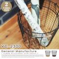 ジェネラルマニュファクチャ ワイヤーバスケット VC-2300 インターフォルム