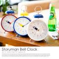 置き時計 ストゥールマンベル  StorumanBell CL-2961 目覚まし時計 ステップムーブメント