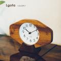 置き型壁掛け兼用時計ルゴタウォールクロック 時計 かけ時計 置き時計 掛け置き兼用