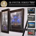 アートフレーム 3D Poster Series1 JIG 全4タイプ