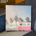 アート キャンバスアート バス&ビーチ 絵画