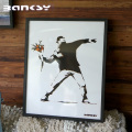 Banksy バンクシー Molotov アート 絵画 風刺画 IBA-61735