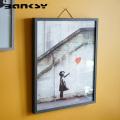 Banksy バンクシー Red Balloon アート 絵画 風刺画 IBA-61736
